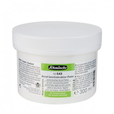 Acrylic structuring paste extra light 300 ml