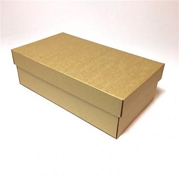 Flat box ZELLULOOS 18 x 32 x 10 cm - Brown