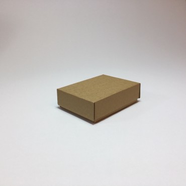 Flat box ZELLULOOS 9,5 x 13 x 4 cm 25 Pc. - Brown