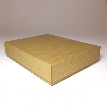 Flat box ZELLULOOS 19 x 24 x 5 cm - Brown