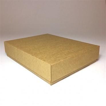 Flat box ZELLULOOS 19 x 24 x 5 cm 25 Pc. - Brown