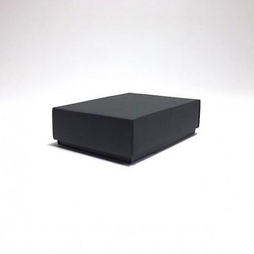 Flat box ZELLULOOS 9,5 x 13 x 4 cm 25 Pc. - Black