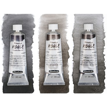 Liquid charcoal 35 ml - DIFFERENT COLORS