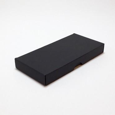 Flat box ZELLULOOS 8 x 18 x 2 cm 25 pcs. - Black