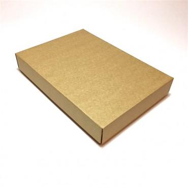 Flat box ZELLULOOS 22 x 32 x 5 cm 25 pcs. - Brown