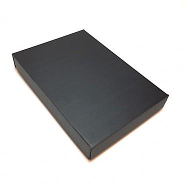 Flat box ZELLULOOS 22 x 32 x 5 cm 25 pcs. - Black