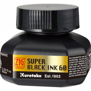 Ink KURETAKE SUPER BLACK INK 60 ml