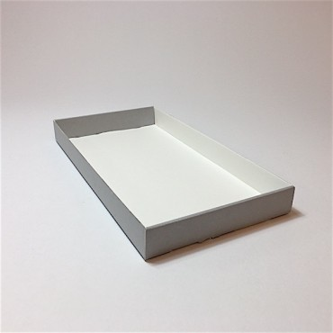 Archive box ARCHEOLOGY 19 x 35 x 3,6 cm AL1,6mm - Grey/White