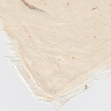 Nepalese paper WHITE 120 gsm 50 x 75 cm