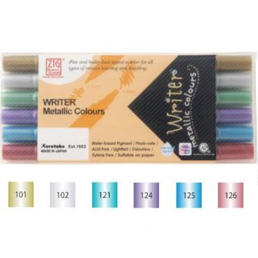 Sketching pen WRITER Metallic SET - 6 colors