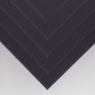 Base board DSPC 1,4 mm 30 x 30 cm 5 Sheet - Black/black