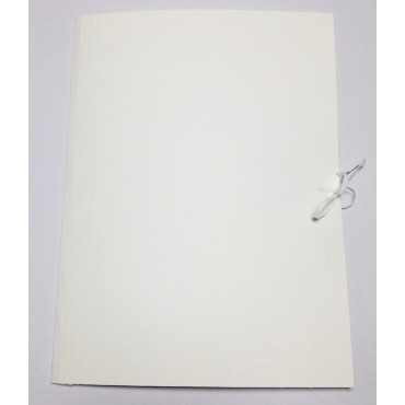 Archival folder 350g 28 x 41 x 4 cm - White