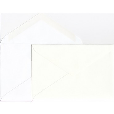 Envelopes SCANDIA C6 11,5 x 16,2 cm 120 gsm 50 pcs - DIFFERENT COLORS