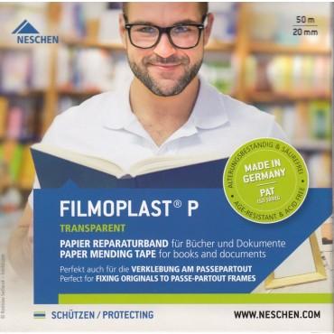 Arhiivikleeplint filmoplast®P  2 cm x 50 m - Läbipaistev