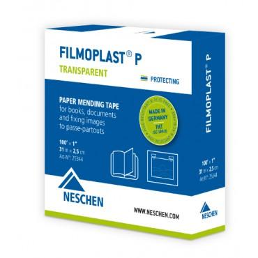 Archival tape filmoplast P  2 cm x 50 m - Transparent