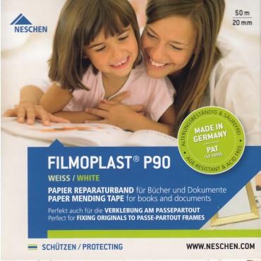 Arhiivikleeplint filmoplast®P90  2 cm x 50 m - Läbipaistmatu