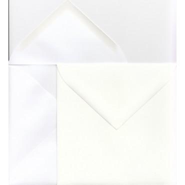 Envelope SCANDIA 15,5 x 15,5 cm 120 gsm 50 pcs - DIFFERENT COLORS