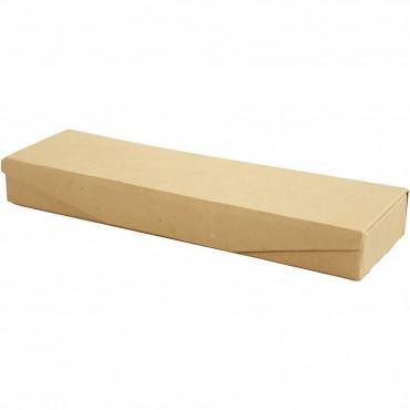 Pencil case 6 x 21 x 2,5 cm with press magnet closure