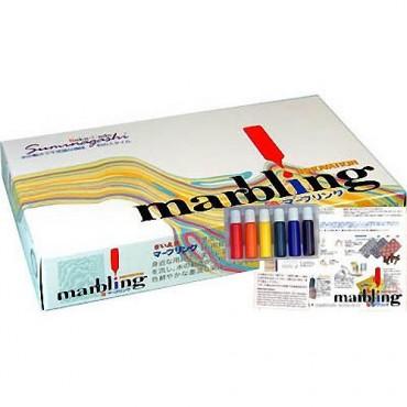 Marbling set 6 x 12 ml