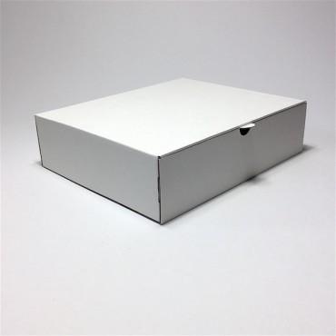 Box 31,5 x 26 x 8 cm - Brown/white cardboard