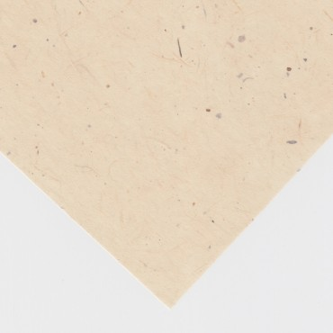 Japanese paper GAMPI SMOOTH MM #43  32 gsm 21 x 29,7 cm (A4) 10 Sheets - Cream