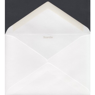 Envelope SCANDIA C6 11,5 x 16,2 cm 120 gsm 500 Pcs - Bright white