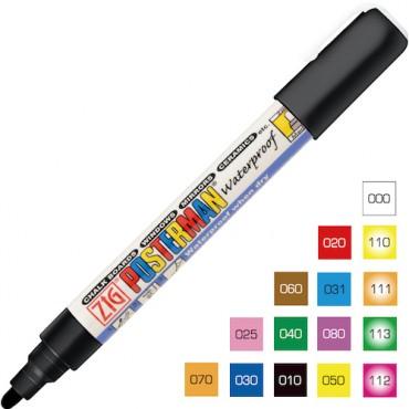 Marker POSTERMAN Medium 2 mm - ERINEVAD TOONID