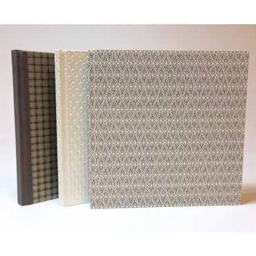 Hand made guestbook 21 x 21 cm 96 sheets - DIFFERENT VARIATIONS