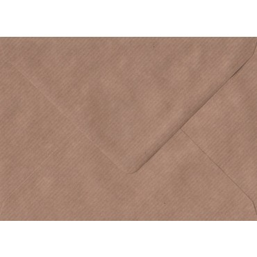 Envelopes KSH COLORED 13,3 x 18,4 cm 120 gsm 20 pcs. - Brown