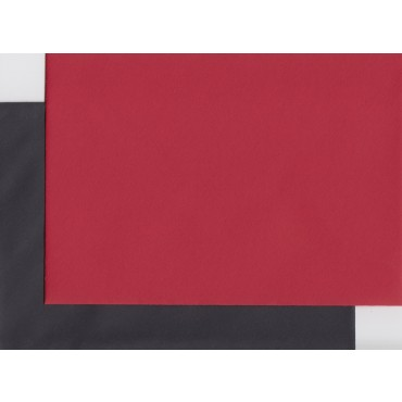 Envelop KSH COLORED 11,4 x 16,2 cm (C6) 120 gsm 10+10 pcs. - Red/Black