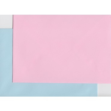Envelop KSH COLORED 11,4 x 16,2 cm (C6) 120 gsm 10+10 pcs. - Soft Pink/Soft Blue