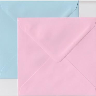 Envelopes KSH COLORED 15,5 x 15,5 cm 120 gsm 20 pcs. -  DIFFERENT COLORS