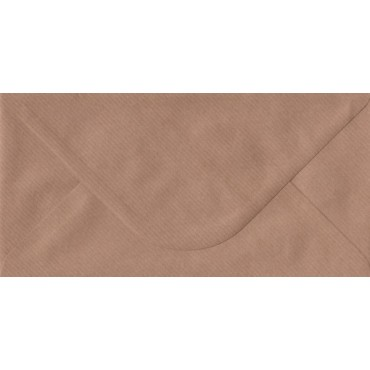 Envelop KSH COLORED 11 x 22 cm (C65) 120 gsm 50 pcs. - Brown