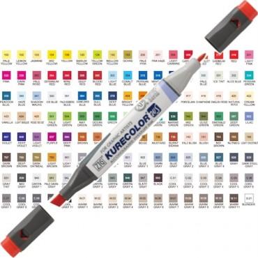 Sketching pen KURECOLOR Twin WS - DIFFERENT COLORS