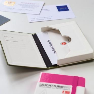 Business Card Case 6,5 x 10 x 1,5 cm - DIFFERENT COLORS