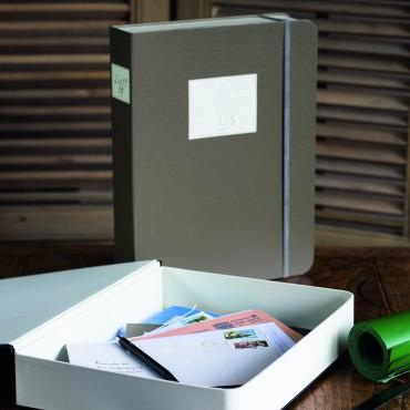 Book Box  25,5 x 32,9 x 6 cm - DIFFERENT COLORS
