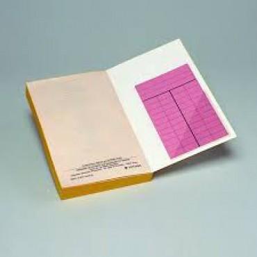 Triangular adhesive pockets 100 x 100 mm 24 pcs