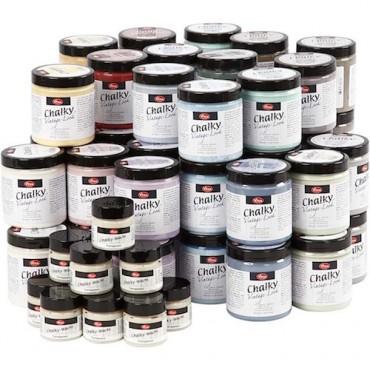 Chalk colors CHALKY VINTAGE 250 ml - DIFFERENT COLORS