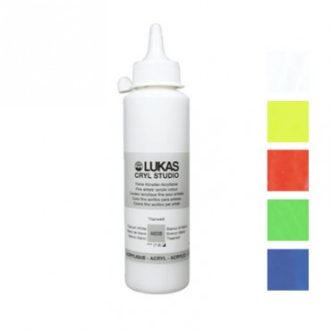 Acryl STUDIO FLUORESCENT 250 ml - DIFFERENT COLORS
