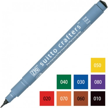 Pen SUITTO CRAFTERS Fine 0,5 - DIFFERENT COLORS