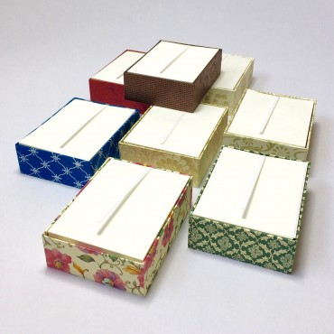 Notepaper in BOX 8,3 x 11,3 x 3 cm (ca. 250 Sheets) - DIFFERENT VARIATIONS